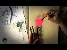Beatrice Alemagna: How I draw Eddie and Fluffy | Children's books | The Guardian