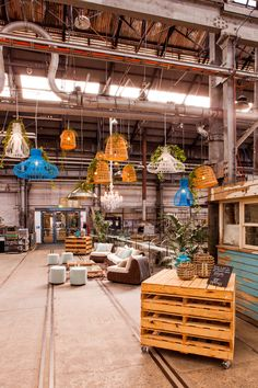 Australian Technology Park's Amazing Blacksmith's Workshop transformed for it's official launch last year.