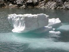 Un piccolo iceberg nostrano.