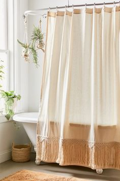 Shop Odessa Lattice Trim Shower Curtain at Urban Outfitters today. We carry all the latest styles, colors and brands for you to choose from right here. Boho Bathroom, Bathroom Curtains, Bathroom Styling, Small Bathroom, Rental Bathroom, Bathroom Storage, Modern Bathroom, Master Bathroom, Urban Outfitters