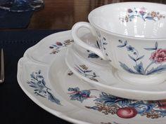 Wedgwood Pot Pourri (Williamsburg)--my china pattern