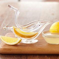 Bird shaped lemon juicer