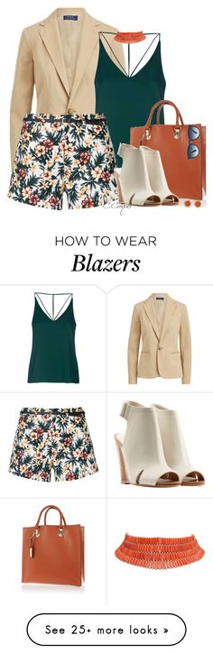 """""""Floral Trend"""" by ccroquer on Polyvore featuring Ralph Lauren, Topshop, Loveless, River Island, rag & bone, House of Harlow 1960 and Ray-Ban"""