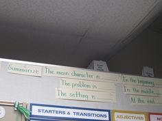 Summarizing Sentence Frames