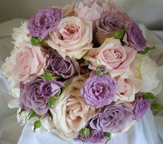 Bridal bouquet with Sweet Avalanche by Meijer Roses made by Green Room Flowers!