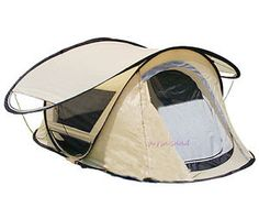 2 person pop up tent | ... Person-2-season-Top  sc 1 st  Pinterest & All Tents - Seconds Family 4.2 4 Man Family Pop Up Tent Beige ...