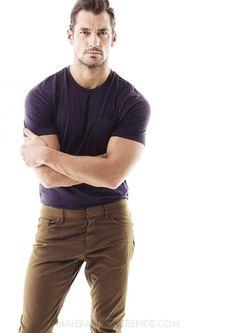 David Gandy posa en exclusiva para Men's Fitness UK con fotografías de Glen Burrows