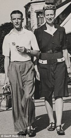 Happy holiday in Bournemouth, 1947