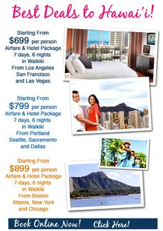 Great travel Deals every day
