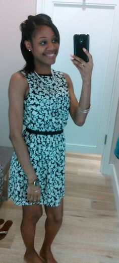 Another view of my #AnnTaylor #LOFT dress