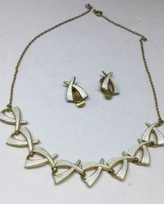 Aksel Holmsen Sterling Silver Enamel Necklace Earrings Norway Norwegian #AkselHolmsen