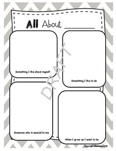 Figure me out on pinterest math math activities and all about me