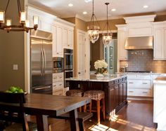 awesome A Look at Traditional Contemporary Kitchens by http://www.99-home-decorpictures.xyz/traditional-decor/a-look-at-traditional-contemporary-kitchens/