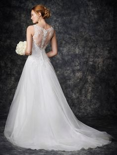 Ella Rosa: Gallery Style GA2258 #bridal #weddingdress