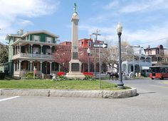 Cape May, NJ. The architecture here is just beautiful and the beach is great! Another place I'd love to visit again!