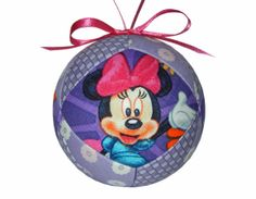 Minnie Mouse Christmas Holiday Ornament Unique by craftcrazy4u, $13.00
