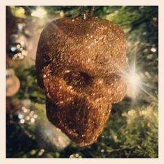 Nightmare before #xmas gold glitter skull balls #bling it on muthafuckas x Web Instagram User » Followgram