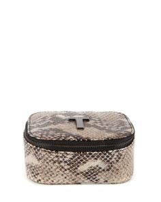 Exotic jewellery case - Black Ted Baker ROW