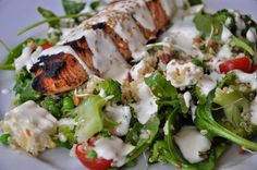 L lately: Superfood Summer Salad Summer Salads, Superfood, Broccoli, Chicken, Meat, Vegetables, Recipes, Recipies, Summer Salad