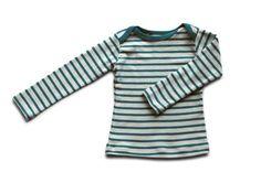 organic cotton striped nautical tees - natural/azure                         – mabo