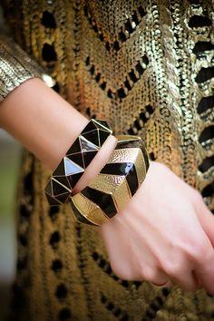 Golden knight (of Cydonia) | gvozdiShe Golden Knights, Cuff Bracelets, Personal Style, Blog, Jewelry, Fashion, Fashion Clothes, Moda, Jewlery