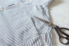 Летнее платье из мужской рубашки