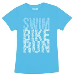 Women's Swim Bike Run Graphic Tee - TYR