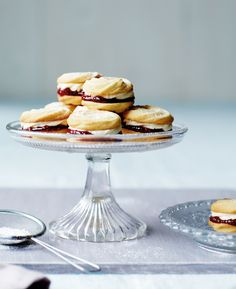 Make like this year's Great British Bake Off contestants and perfect your Viennese Whirls | Afternoon Tea at Home by Will Torrent, photography by Matt Russell, Ryland Peters & Small