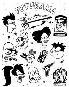 Kritzelei Tattoo, Doodle Tattoo, Doodle Art, Tattoo Sketches, Tattoo Drawings, Art Sketches, Art Drawings, Flash Art Tattoos, Body Art Tattoos