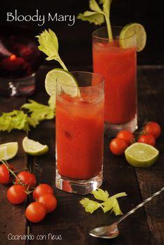 Cocinando con Neus: Cóctel Bloody Mary