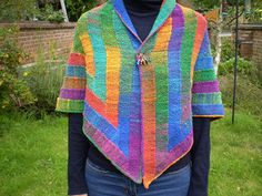 Ravelry: Ten Stitch Triangle pattern by Frankie Brown