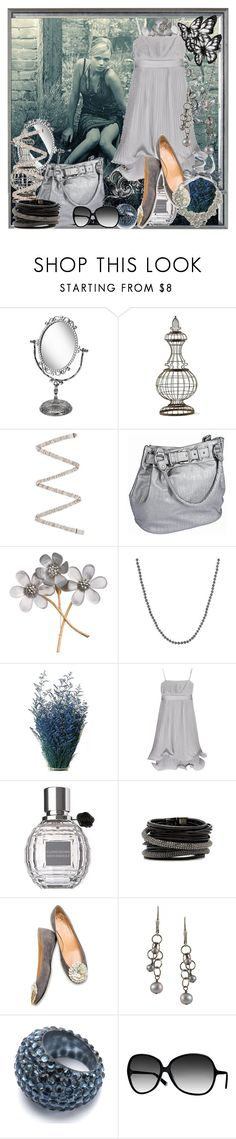 """GRAY"" by tanya777 ❤ liked on Polyvore featuring Monsoon, Aidan Gray, Lanvin, Vero Moda, Alexis Bittar, Dean Harris, Alice + Olivia, Citrine by the Stones, TIBI and Oliver Peoples"