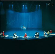 Cirque du Soleil's O at the Bellagio in Las Vegas.