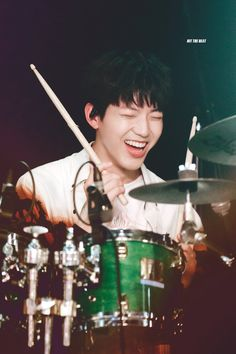 Ulzzang, Day6 Dowoon, Young K, Drummer Boy, Kpop Groups, Photo Cards, Shinee, Boy Bands, Drums