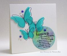 New Possibilities...the Lydia and Sorona Butterfliesby the Memory Box Design Team