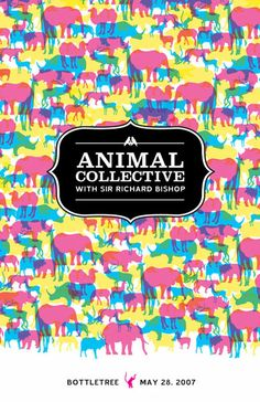 Animal Collective #design #poster