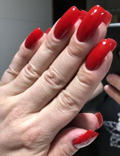 Long Red Nails, Long Fingernails, Dragon Claw, Sexy Nails, Dream Nails, Red Dragon, Natural Nails, High Heel, Hot
