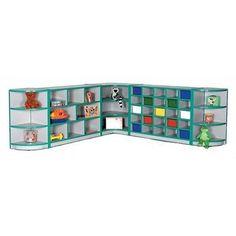 Mahar Creative Colors Creative Colors Compartment Cubby Trim Color: Fuchsia, Size: 25 Tray