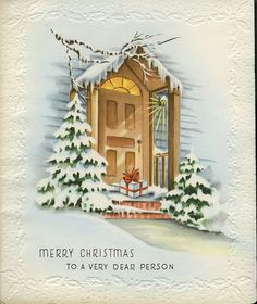 dear person christmas card by rubylite12, via Flickr