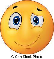 Emoticon, Lächeln, karikatur, glücklich