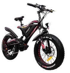 Addmotor MOTAN Electric Bicycle Dual Suspension City Fat eBike - Ideas of Electric Bicycle Best Electric Bikes, Electric Bicycle, Electric Car, Mountain Bike Frames, Mountain Biking, Motorised Bike, Electric Mountain Bike, Cruiser Bicycle, Bike Brands