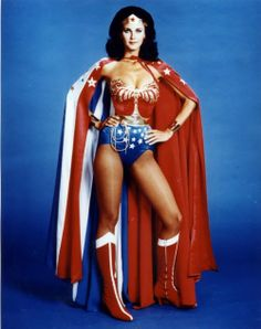 """Pinning #WonderWoman : """"I like her boots—and her CAPE!"""" #ellabeanpins"""