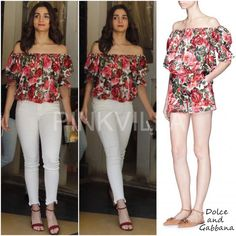 Yay or Nay : Alia Bhatt in Dolce and Gabbana