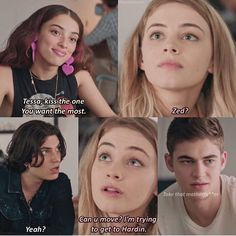 Movie Memes, Movie Quotes, Movie Tv, Movie Couples, Cute Couples, After Buch, Best Couple Pictures, Favorite Book Quotes, Hardin Scott