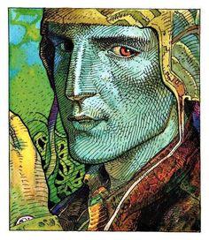 Jean Giraud, aka Gir, aka Moebius #comics #illustration #moebius