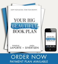 Now is the time. Write that book - Your Big Beautiful Book Plan Get it with Danielle LaPorte's Bonus when you sign up for Marie Forleo's B-School #BIGBSCHOOL #MFBSCHOOL  www.DanielleLaPorte.com/BSchool @DanielleLaPorte