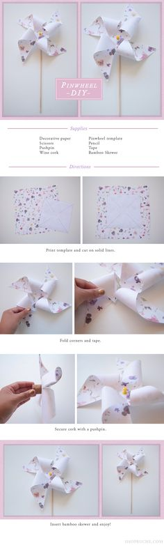 Pinwheel DIY Project