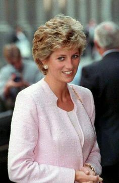 Diana Princess Of Wales Attending A Lunch At Merchant Taylors Hall In London For Members Of The Merchant Taylors Company.