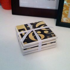 Decorative Tile Coasters Simple Custom Coasters $12  Alexisscott Interiors  Pinterest  Custom 2018