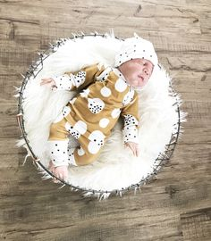 A personal favorite from my Etsy shop https://www.etsy.com/listing/508056820/newborn-three-piece-outfit-going-home